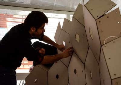 Fabrication Process of HexaDome