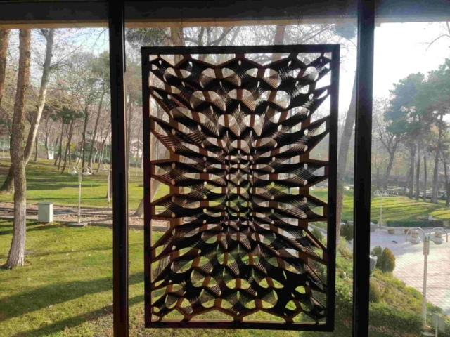 Bended wood panel
