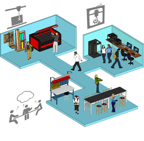 fab lab illustration